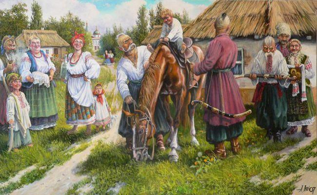Image result for запорожские казаки рисунки