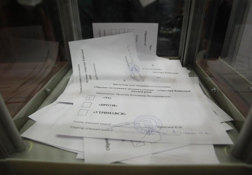 Секретарем Київради обрали Володимира Прокопіва