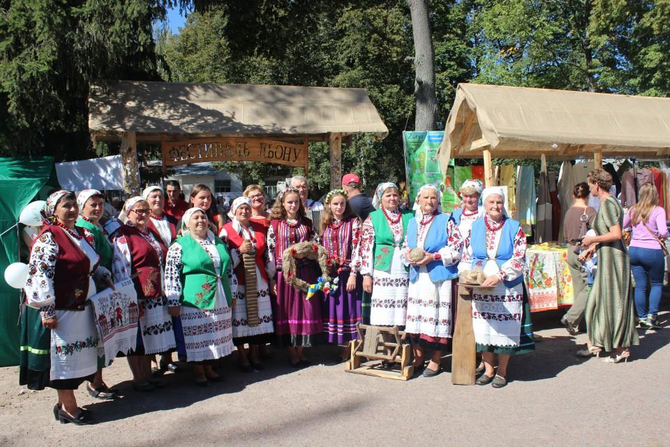На Житомирщині пройшов всеукраїнський фестиваль льону